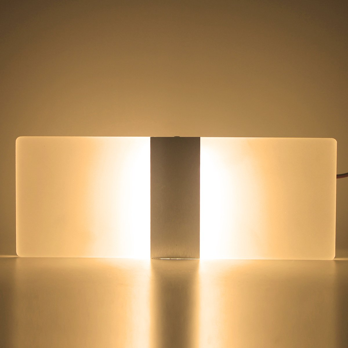 Modern Acrylic AC 85-265V 6W LED Wall Lamp Light Sconce Decorative ...