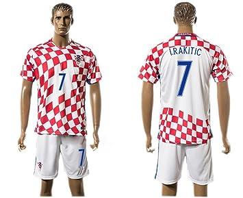 Camiseta de fútbol, de Generic, de Ivan Rakitic 7 de Croacia,