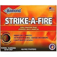 "Diamond ""Strike a Fire"" Fire Starter Kit, 48 count/box - 2 box package."