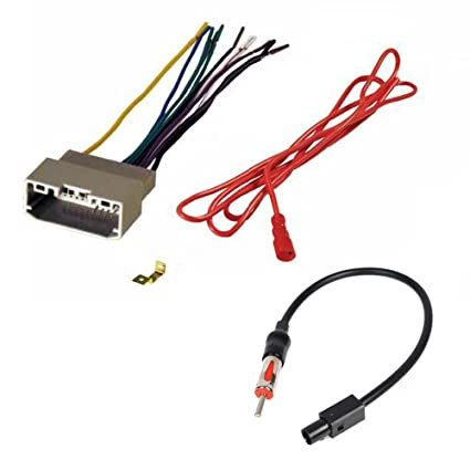 amazon com aftermarket car stereo radio receiver wiring harness and rh amazon com metra 70-1761 receiver wiring harness metra 70-7552 receiver wiring harness