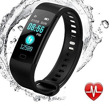 Amazon.com: Monitor de actividad física, resistente al agua ...