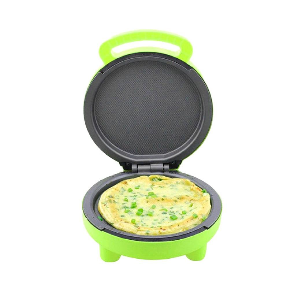 Household Cake Machine Multifunction Automatic Double-Sided Grilled Machine Mini Electric Baking Pan , green by miaomiao (Image #3)