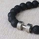 Beaded Essential Oil Lava Rock Natural Stone Bead