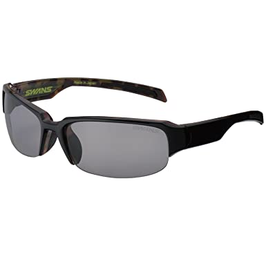 Amazon.com: Swans Sunglasses GW-3701 Black Lens Brown Frame ...