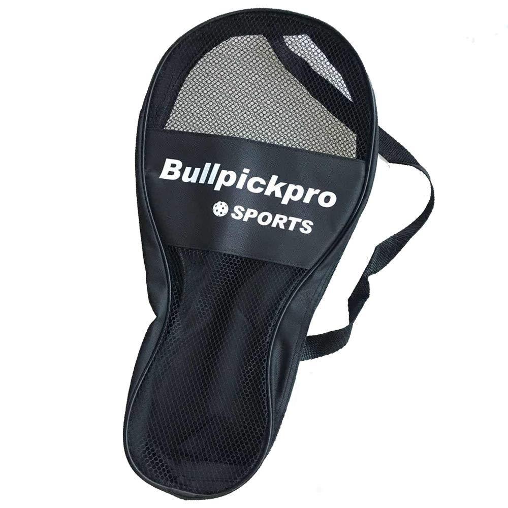 Bullpickpro Premium Pickleball Bag Pickleball Holder Backpack Pack Fits Multiple Paddles with Convenient Pockets