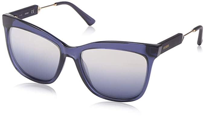 Amazon.com: Gafas de sol Guess GU 7620 92W azul/otro/azul ...