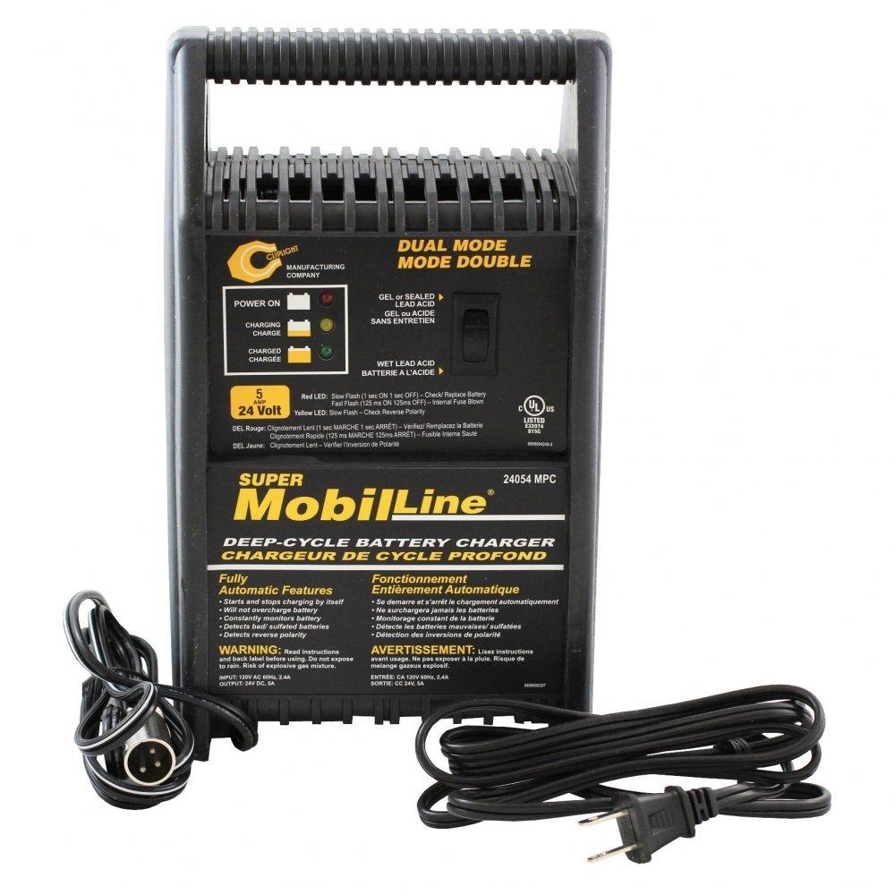 Amazon.com: Cliplight XLR 24 V 5 Amp Cargador de batería ...