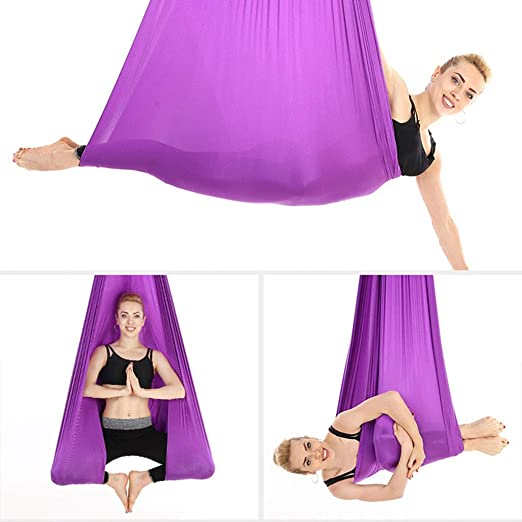 Hamaca de yoga Aérea Hamaca de yoga Antigravedad Arnés de ...