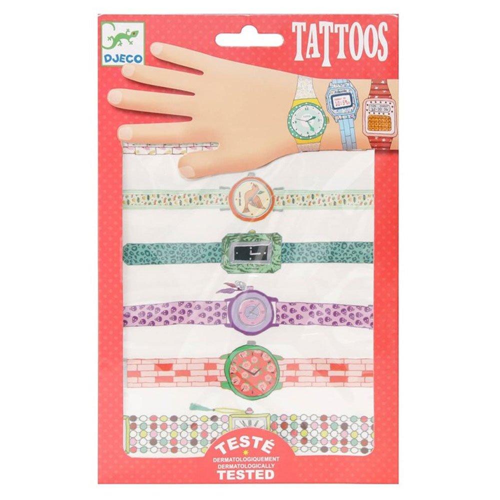 Tatuajes infantiles Djeco Body Art Wendys, diseño de relojes: Amazon.es: Juguetes y juegos