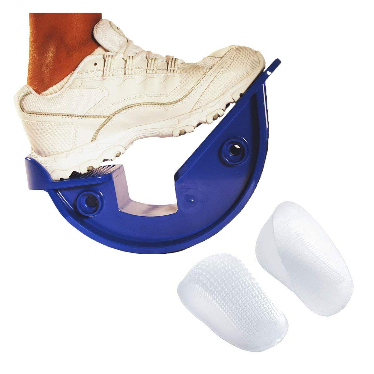 ProStretch Heel and Foot Pain Relief Kit, Includes ProStretch The Original Calf and Foot Stretcher and 1 Pair of Regular TuliGEL Classic Heel Cups by ProStretch