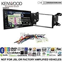 Volunteer Audio Kenwood Excelon DNX694S Double Din Radio Install Kit with GPS Navigation System Android Auto Apple CarPlay Fits 2011-2013 Non Amplified Toyota Matrix