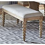 Cheap Liberty Furniture Harbor View Dining Bench in Sand