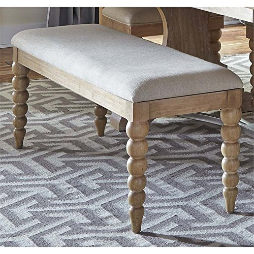 Liberty Furniture Harbor View Dining Bench in Sand