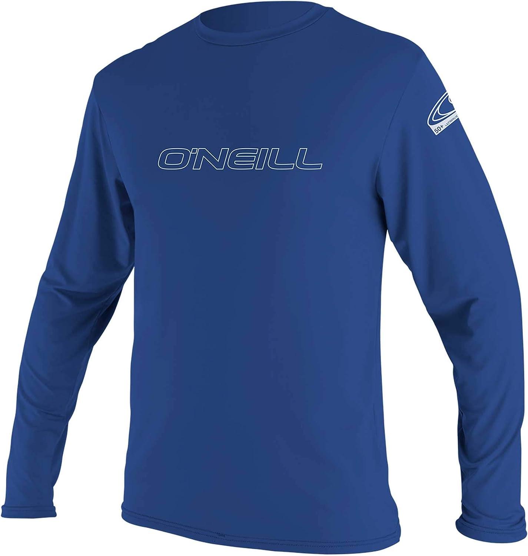 O'Neill Wetsuits Men's Basic Skins 50+ Long Sleeve Sun Shirt