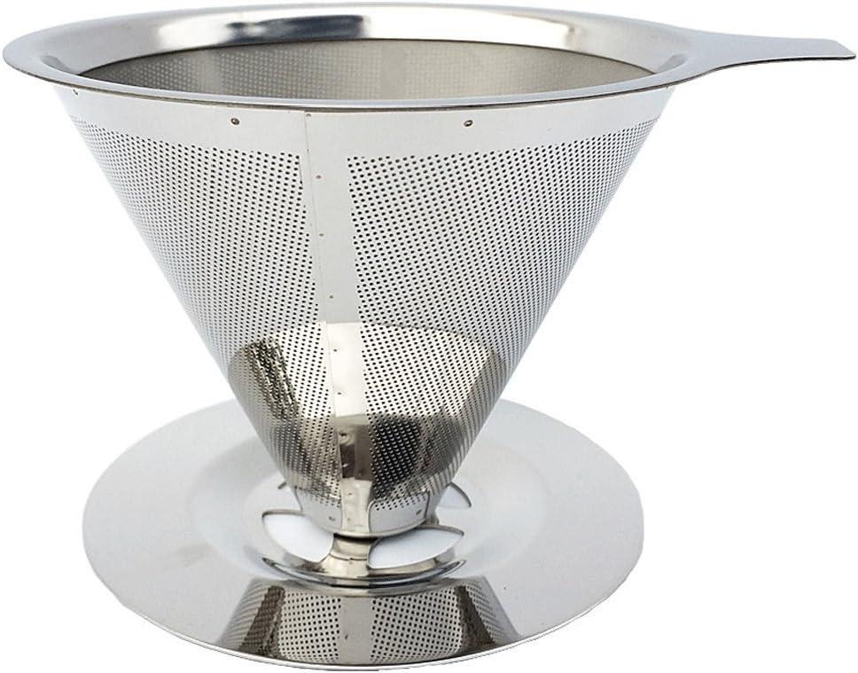 Filtro per Caffè in Acciaio Inossidabile Cestini Rete Colino Gocciolatore