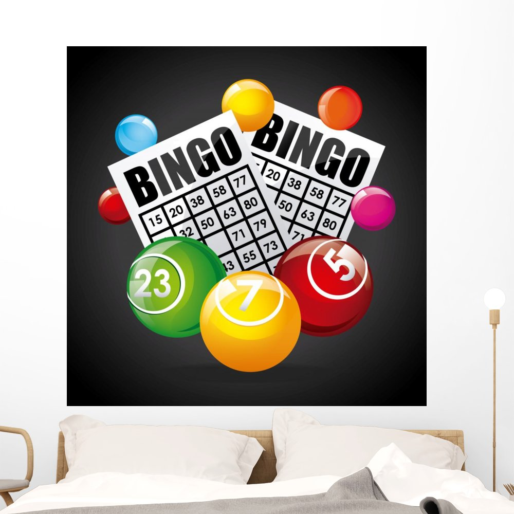 Casino Game Wall Mural by Wallmonkeys Peel and Stick Graphic (48 in H x 48 in W) WM368611 by Wallmonkeys Wall Decals