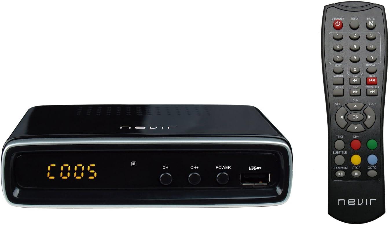 Nevir NVR-2596TDT2P - Sintonizador de TV: Nevir: Amazon.es ...
