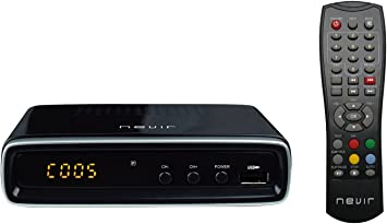 Oferta amazon: Nevir NVR-2596TDT2P - Sintonizador de TV