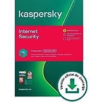 Kaspersky Internet Security 2021 | 5 Dispositivos | 1 Año | PC / Mac / Android | Código de activación vía correo…