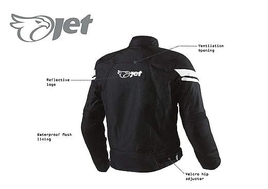 469fea3bb0b JET Blouson Veste Moto Homme Imperméable Avec Armure Multi Fonctionnel  Textile Noir  Amazon.fr  Auto et Moto