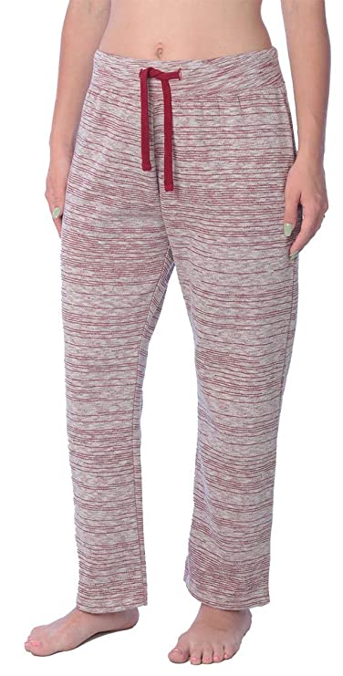 Woman Drawstring Pocket Sweatpants Available in Plus Size LFPO_18 Space Maroon M