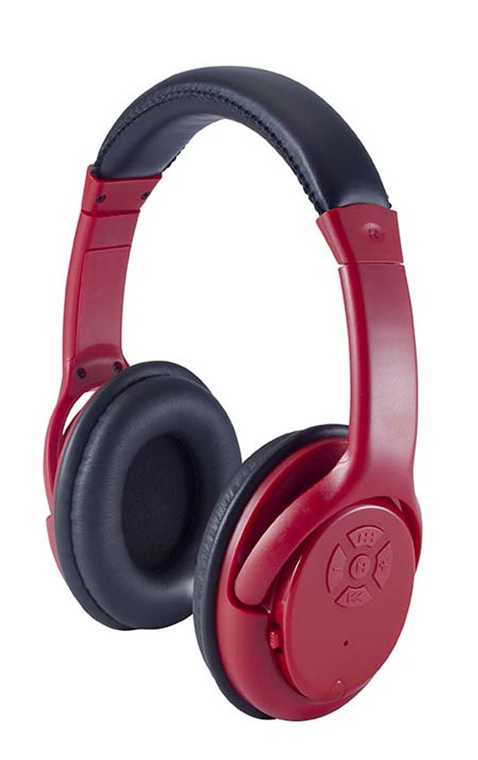 Craig CBH508 Bluetooth Wireless Over-The-Ear Headphones Red