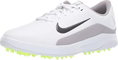 Amazon Com Nike Men S Vapor Golf Shoe White Medium Grey Atmosphere Grey Size 8 M Us Tennis Racquet Sports