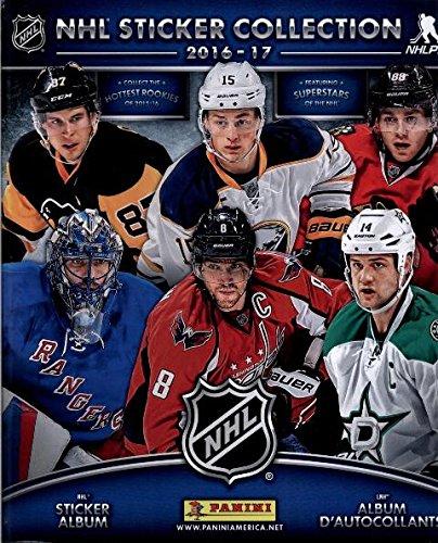 2016/17 Panini NHL Sticker Collection Starter Kit (Hockey Card Stickers) Album + 20 Packs