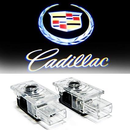 aukur Proyector de logo 2pcs Paso puerta en Charco Luces para Audi ...