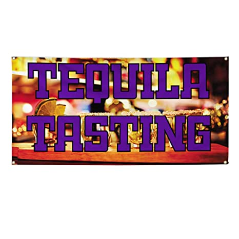 Amazon.com: Vinyl Banner Tequila Tequila Tasting Tequila ...