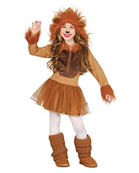 Horror-Shop Traje del león para Las niñas S ca.24 Mon ...