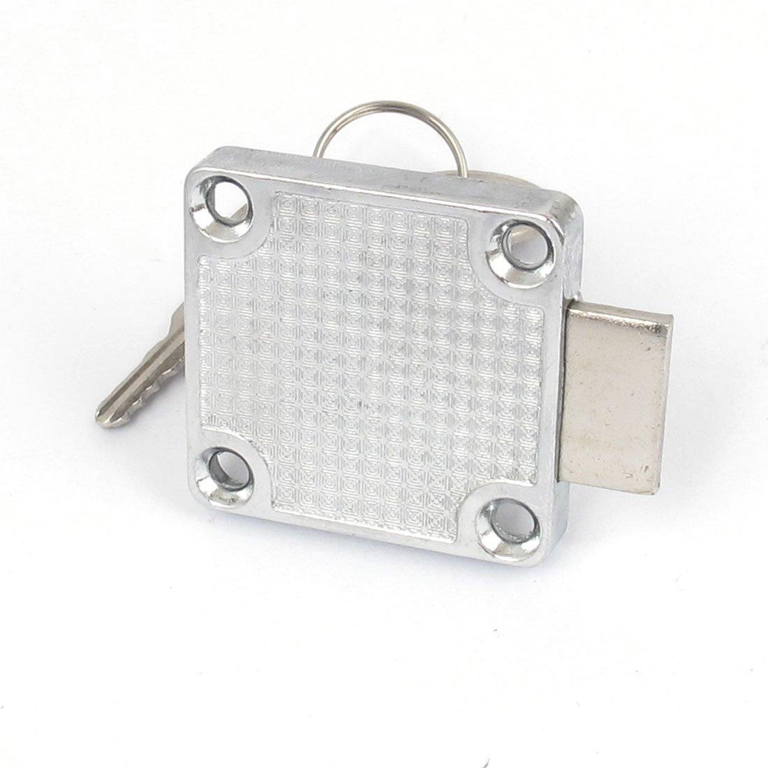 2pcs eDealMax Armario Gabinete Buzón cajón 19x22mm cilindro de la cerradura w Teclas - - Amazon.com