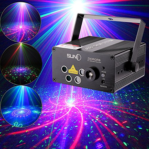 SUNY Lighting Z80RGRB Decoration Projector product image