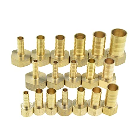 "6mm-12mm Hose Barb Tail 1//4/"" 1//2/"" NPT Female Thread Connector Joint Pipe Fitting"