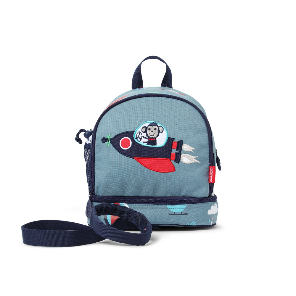 Penny Scallan Junior Backpack With Rein Space Monkey  –   Junior Backpack With Safety Rein/Strap Space Monkey PMRSM