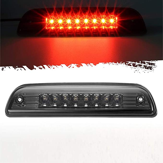 Red High Mount Stop Light Third 3rd Brake CHMSL Center Brake Tail Light Lamp Replacement for Tacoma 1995-2015