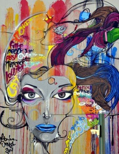 Graffiti: Inspirational & Artistic Sketchbooks, Journals, Scrapbooks, Notebooks & Sketchpads (150 Blank Pages 8.5 x 11) ()