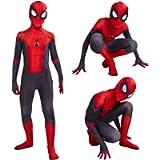 Superhero Spiderman Costumes Unisex Adults Kids Miles Morales Cosplay Bodysuit