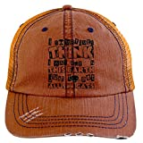 I Was Pur On This Earth Hat, Just Pet All The Cats Trucker Cap (Trucker Cap - Orange)