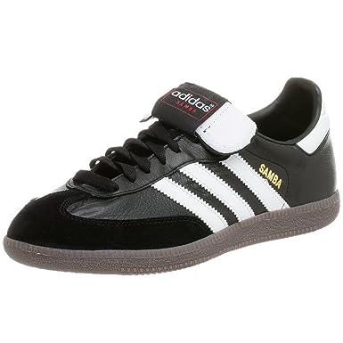 7ee1a1dc0 Amazon.com | adidas Men's Samba K Soccer Shoe, Black/White, 4.5 M ...