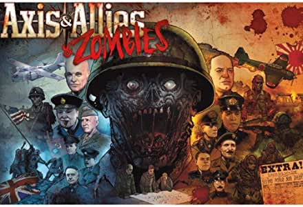 Steve Jackson Games Current Edition Axis and Allies and Zombies (26/10) Board Game