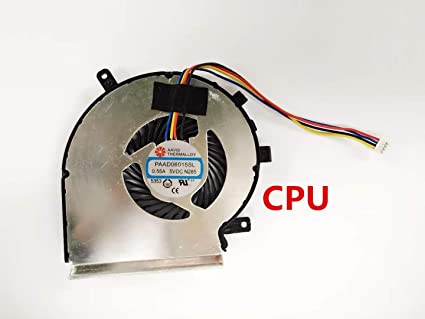 laptop cpu cooling fan 4 wire for msi ge62 ge72 pe60 pe70 gl62 gl72 compatible part number paad06015sl n285 n303 (not gpu fan) 4 wire dc fan wiring diagram p01 ab dc12v 0 45a 4 wire
