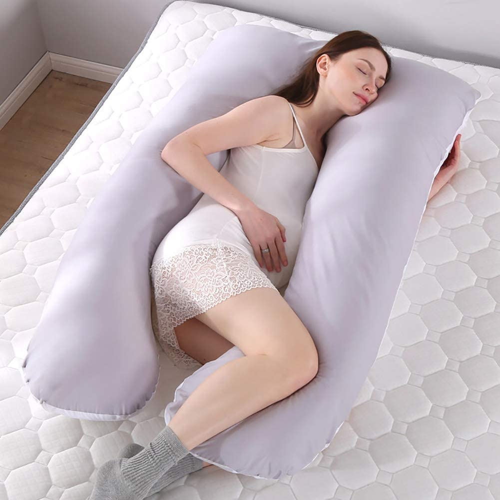 Multifunction Detachable Sleeping Support Pillow for Pregnant Women Body Gray Studyset Pregnancy Pillow
