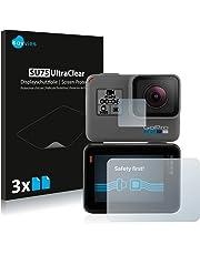 Savvies Pellicola Protettiva Compatibile con GoPro Hero6 Black Protezione Schermo [6 Pezzi]