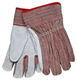 MCR Safety 1080 Cow Leather Fleecy Lined Palm Men's