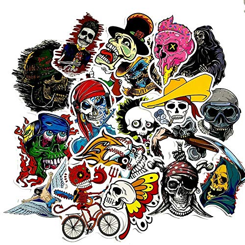 50Pcs/Terror Halloween European and American Style Graffiti Sticker Fornotebook Refrigerator Computer Washing Machine Skateboard