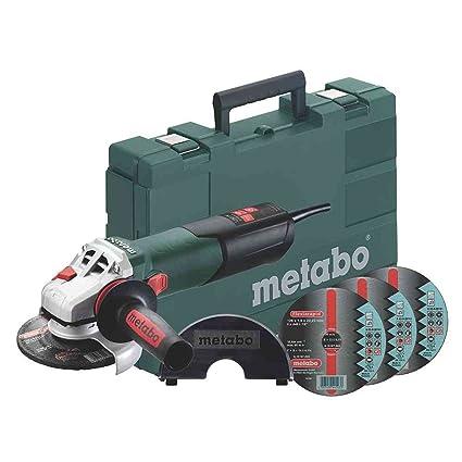Metabo 6.00374.50 W 12 – 125 Quick Set Plus flexia Rapid de inox Plus