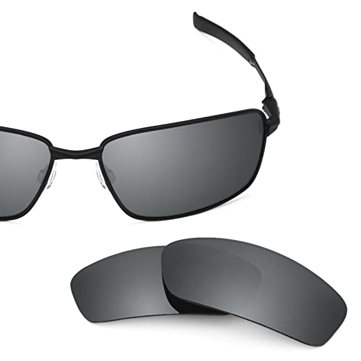 Revant Polarized Replacement Lenses for Oakley Splinter Black Chrome  MirrorShield 0a195af8dfa1