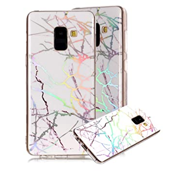 info for 5d858 26b4a Amazon.com: Marble Phone Case for Samsung Galaxy A5 2018,Cover for ...