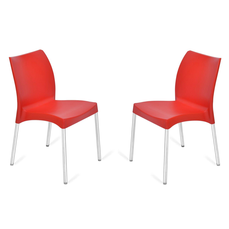 home by Nilkamal Novella FLOCNOVLA7KIT7 Living Room Chair, Set